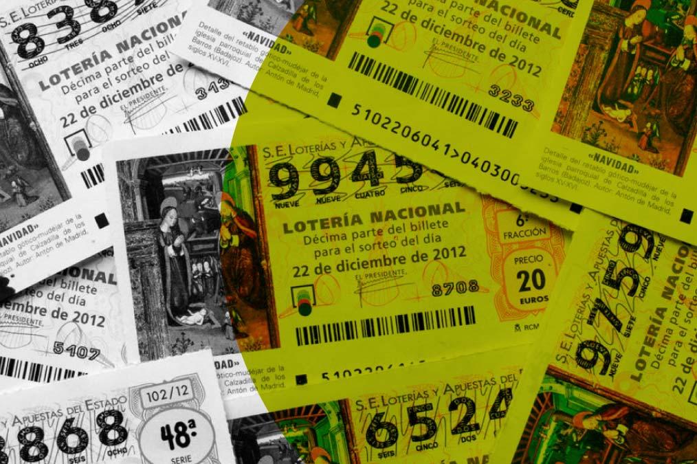 Habitación llena de dinero por un premio de loteria